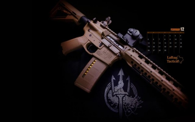 Calendar Wallpapers For 2012 From LaRue Tactical