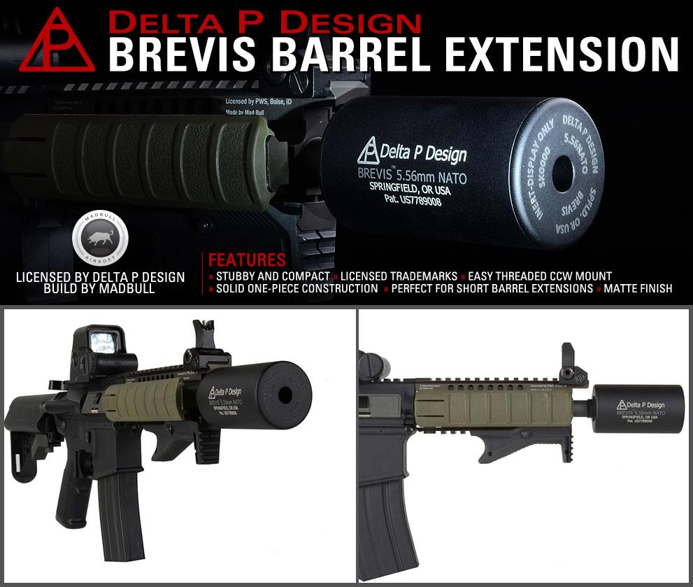 Delta P Design Brevis Barrel Extension