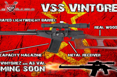 King Arms // coming soon - VSS Vintorez