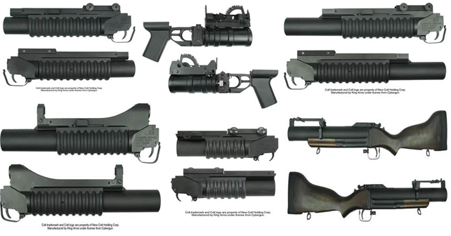 king arms grenade launcher