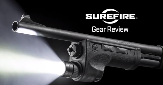 SureFire // DSF Series Shotgun Forend WeaponLight
