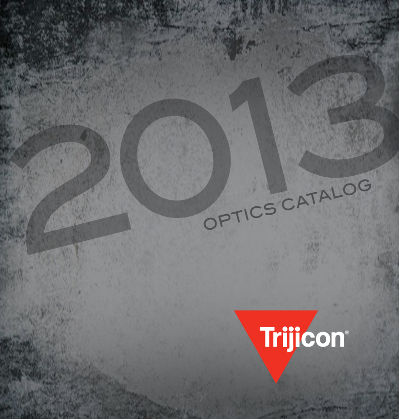 2013 trijicon product catalog
