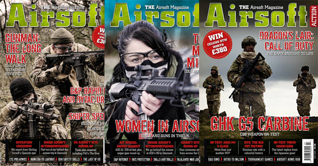Airsoft Action Magazine