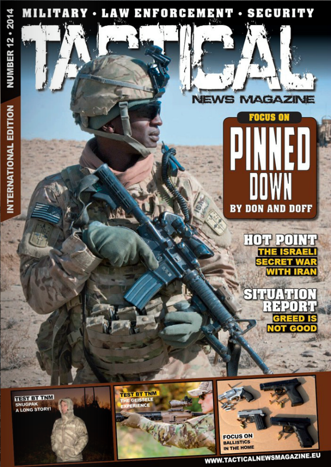 TACTICAL NEWS MAGAZINE ISSUE #12