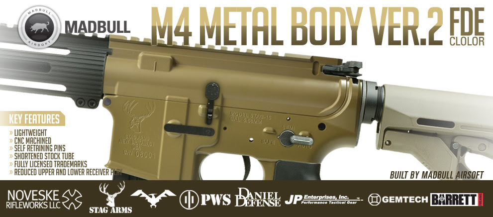 Madbull  M4 Metal Body ver2