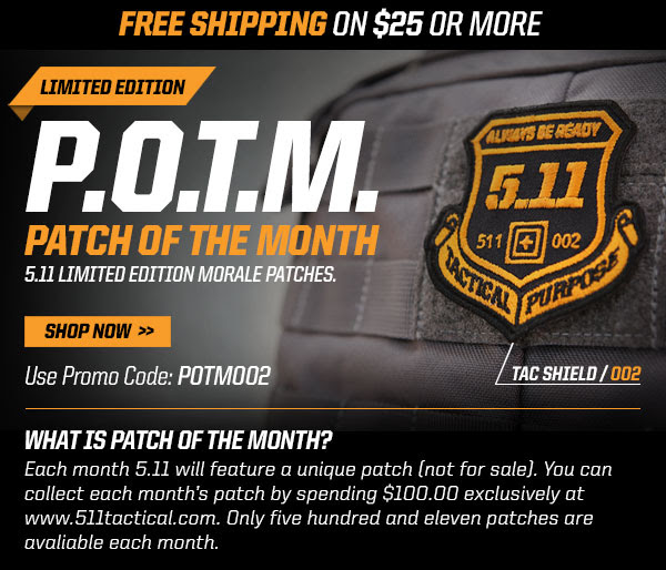 Patch of the Month Returns - 511