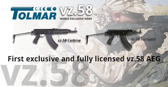 vz58 airsoft aeg by Tolmar / Ares