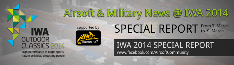 IWA 2014 - Airsoft & Military News Report