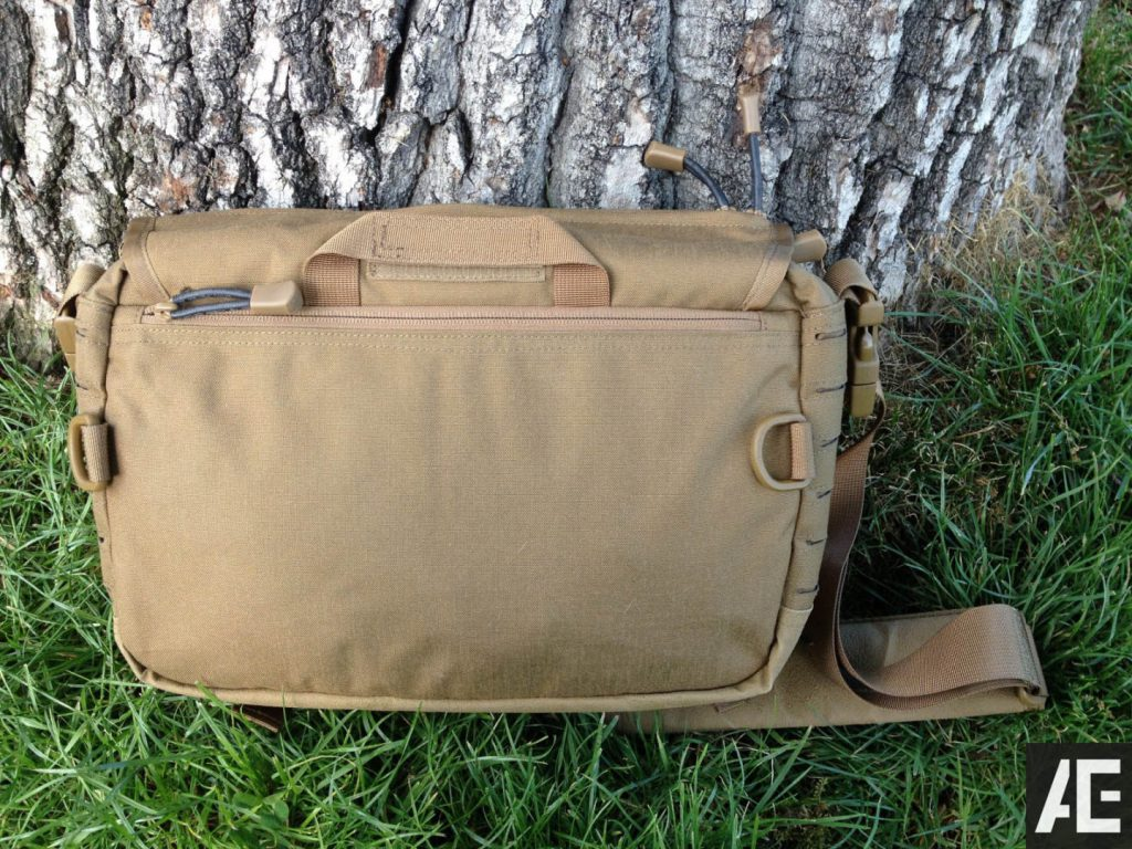 Direct Action Messenger Bag Review Helikon - Backview