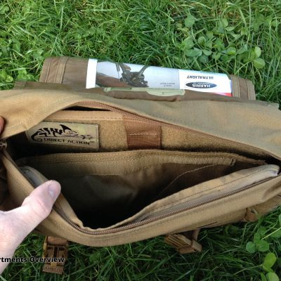Direct Action Messenger Bag Review Helikon - Compartments Overview