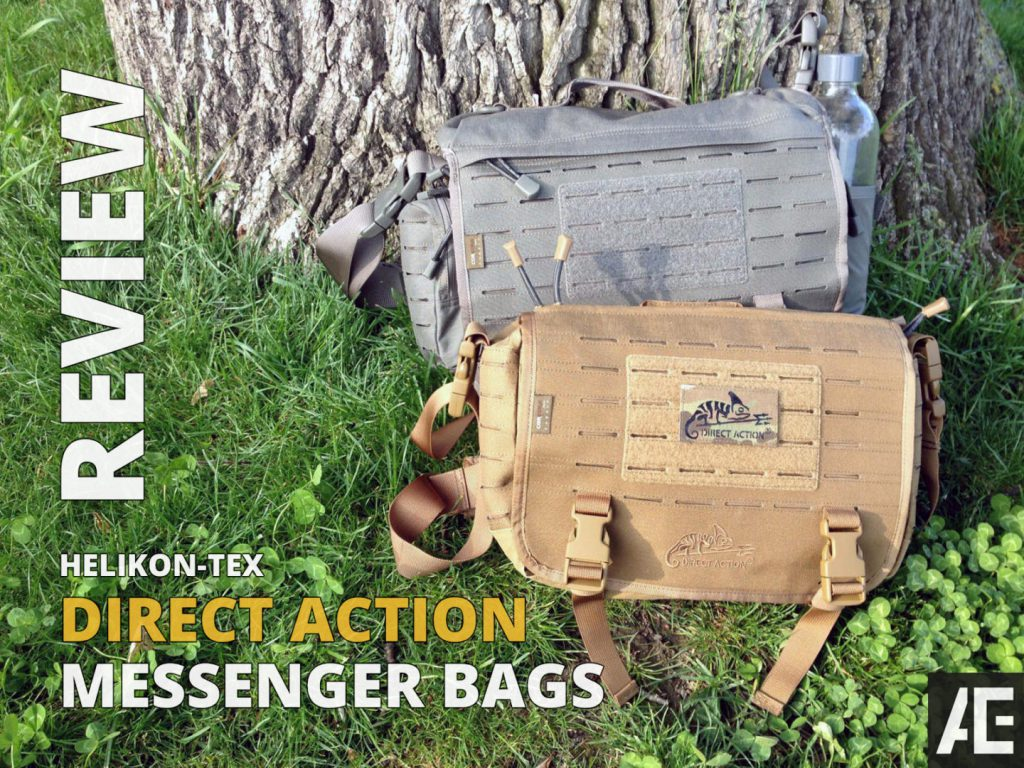 Direct Action Messenger Bag Review Helikon - Opener