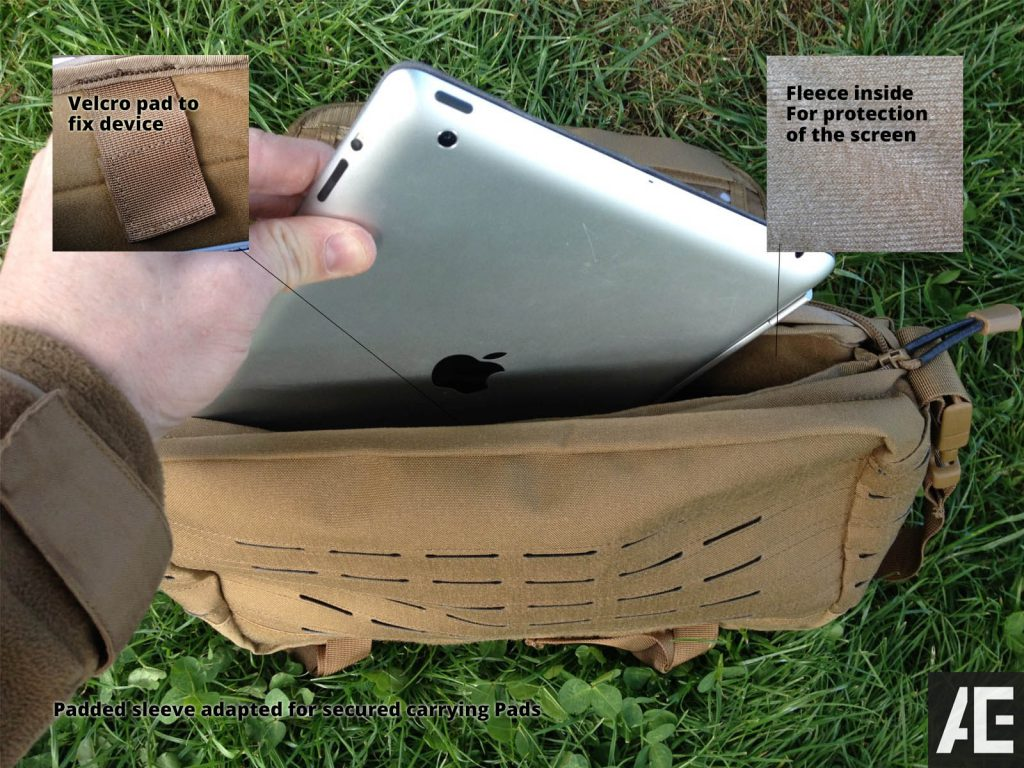 Direct Action Messenger Bag Review Helikon - Padded sleeve adapted for secured carrying Pads