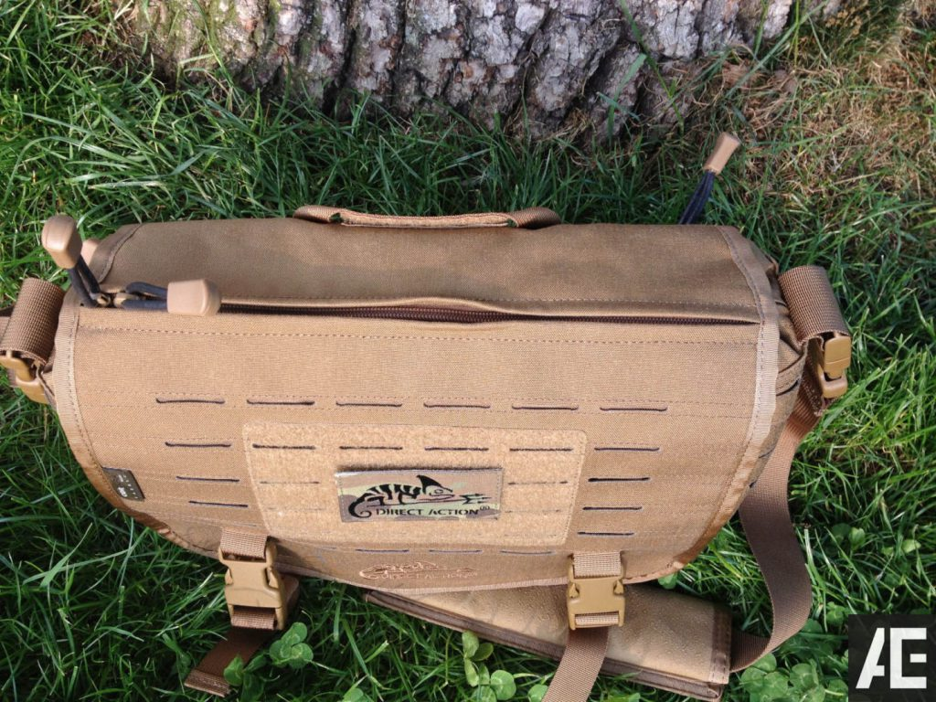 Direct Action Messenger Bag Review Helikon - Top View