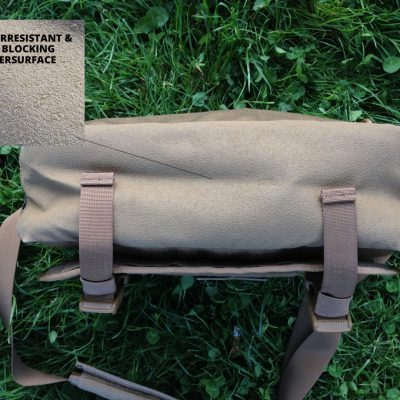 Direct Action Messenger Bag Review Helikon - surface bottom