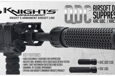 Knight's Armament Airsoft Suppressor