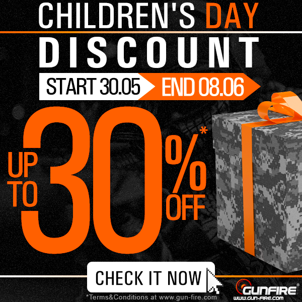 Gunfire Children's Day Sale
