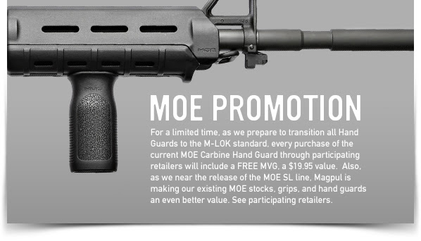 Magpul MOE Promotion