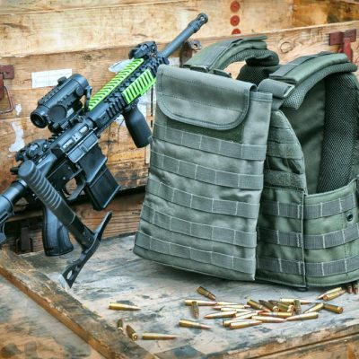 Voodoo Tactical Vest Special Forces in Olive Drab (OD)