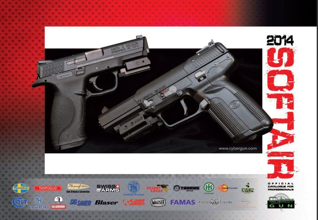 Cybergun Airsoft Catalogue 2014
