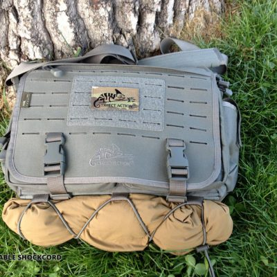 Direct Action Messenger Bag Review Helikon adjustable shockcord
