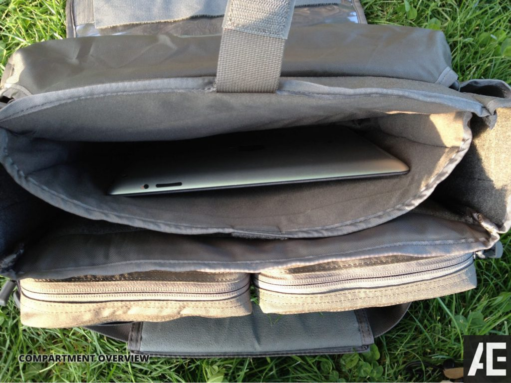 Direct Action Messenger Bag Review Helikon - Compartments