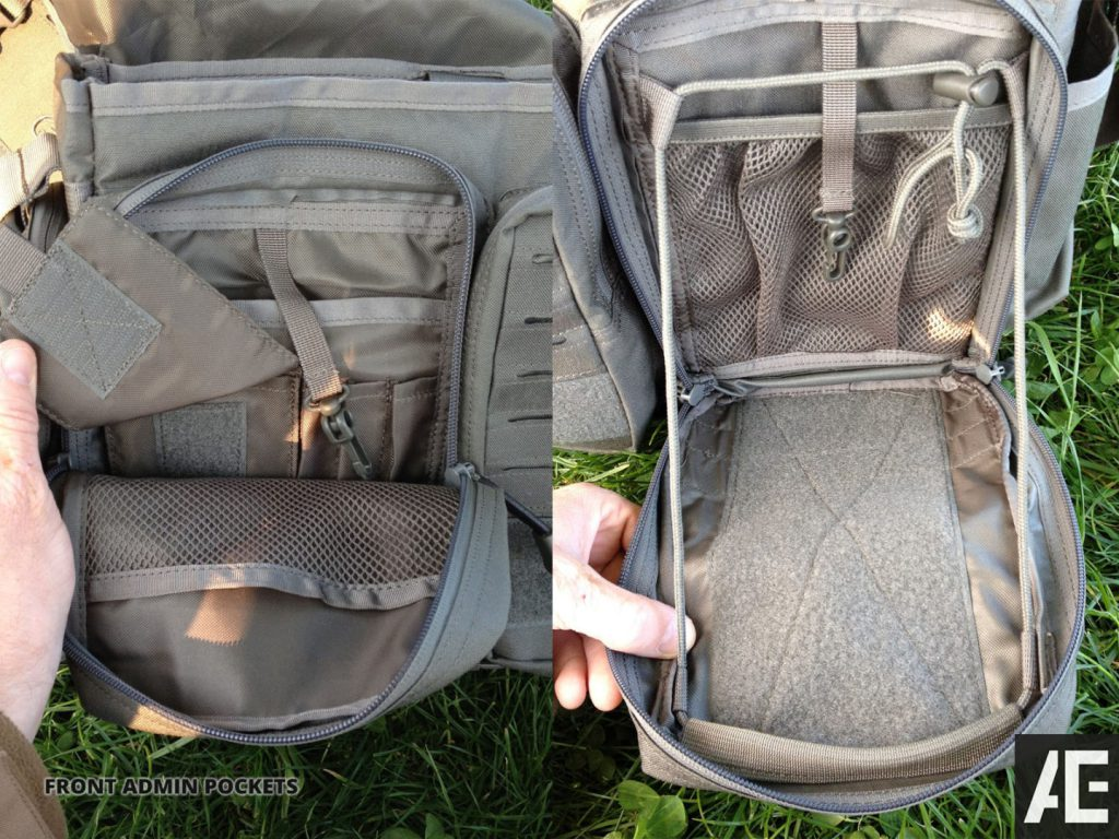 Direct Action Messenger Bag Review Helikon - Front pockets