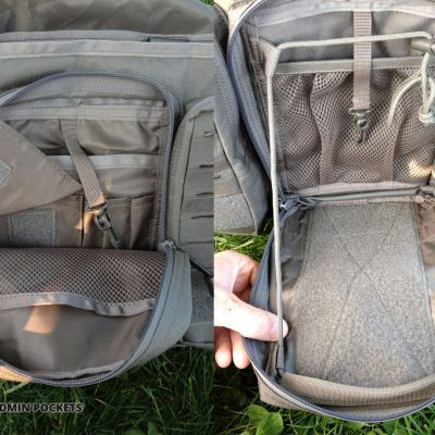 Direct Action Messenger Bag Review Helikon Front pockets