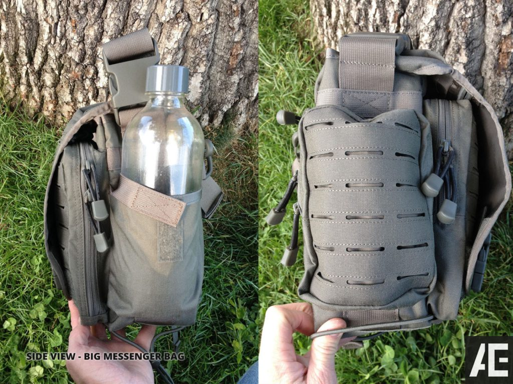 Direct Action Messenger Bag Review Helikon - Side pockets