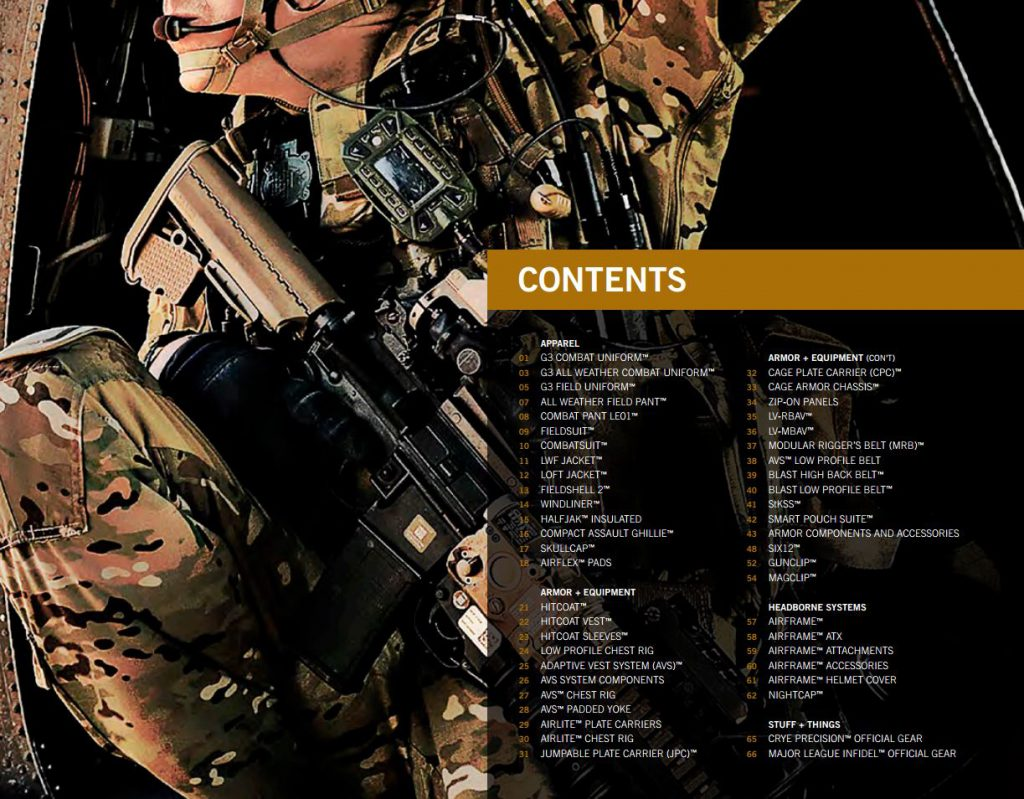 Crye Precision 2014 Product Guide