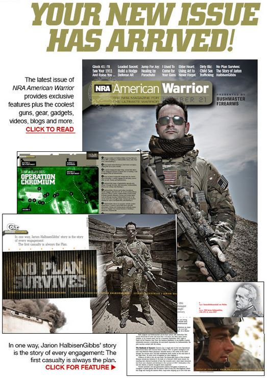 NRA American Warrior Magazin Issue 21