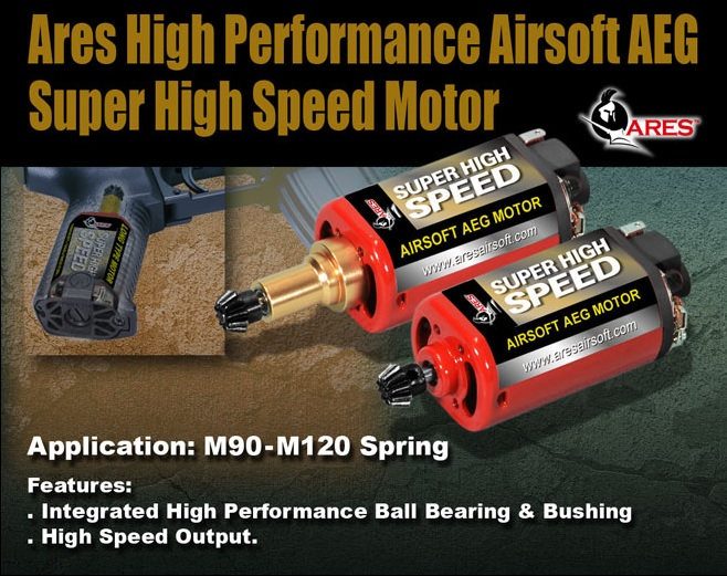 ARES Airsoft High Speed Motor