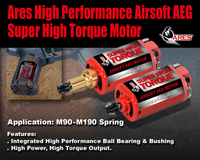 ARES Airsoft High Torque Motor