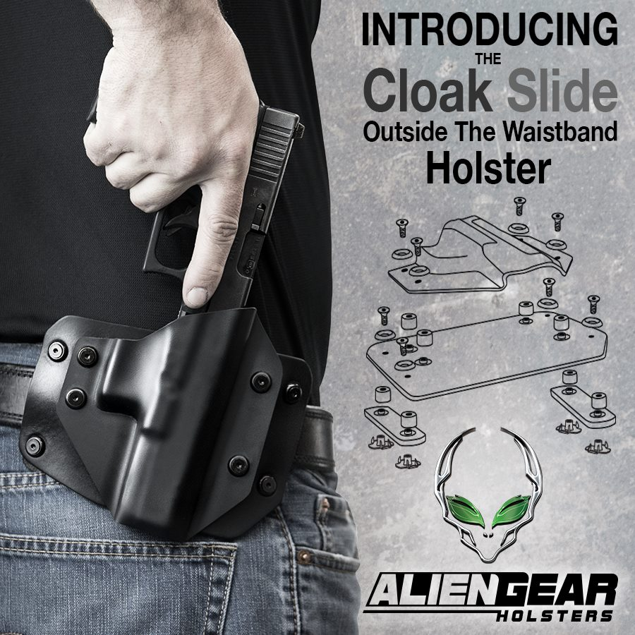 Alien Gear Holsters - Cloak Slide OWB Holster Flyer