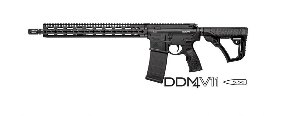 Daniel Defense DDM4 V11 Key Mod 1