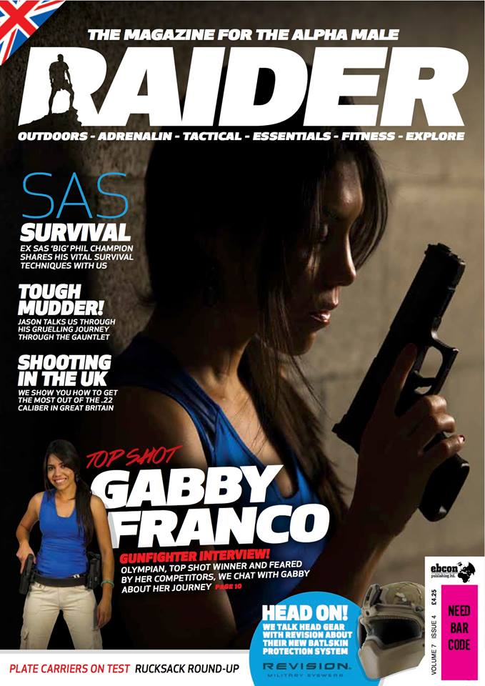 Raider Magazine Volume 7 Issue 4 Cover