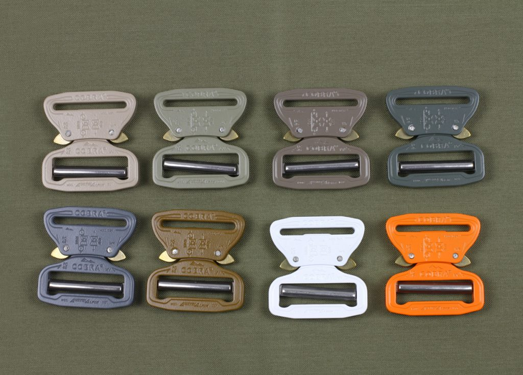 austrialpin cobra buckle colors 2