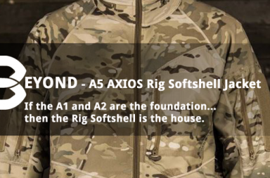 BEYOND A5 AXIOS Rig Softshell Jacket