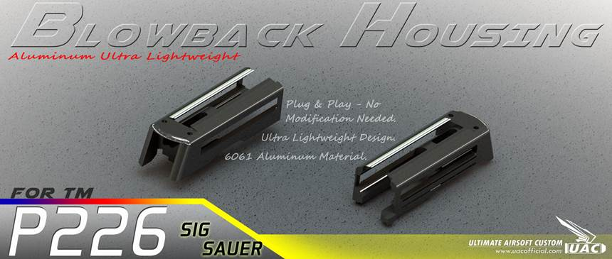 Aluminum Ultra Lightweight Blowback Housing for TM P226