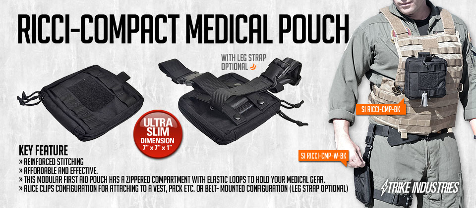 Strike Industries - RICCI Compact Medical Pouch