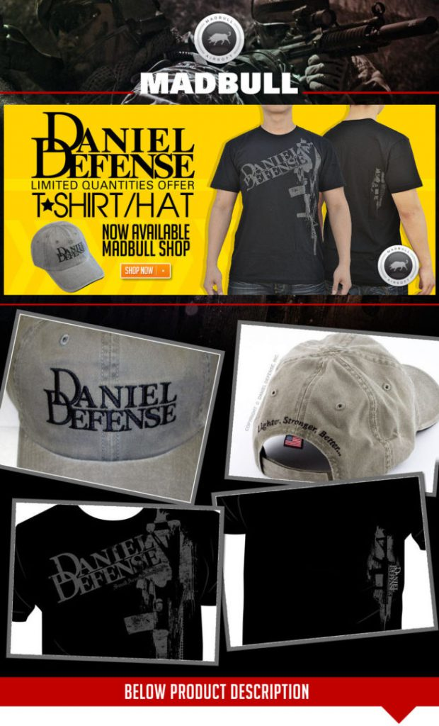 Daniel Defense t shirt