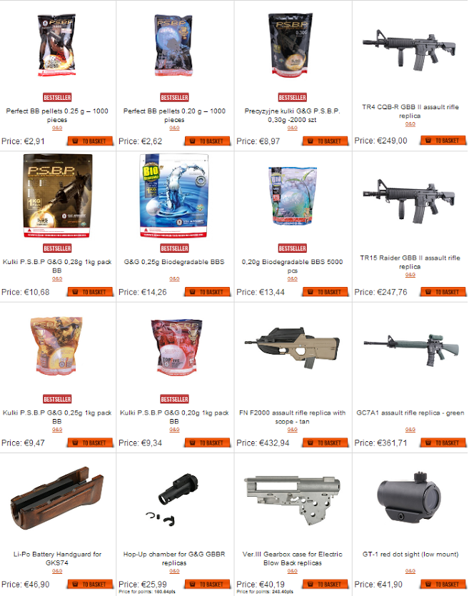 G&G products