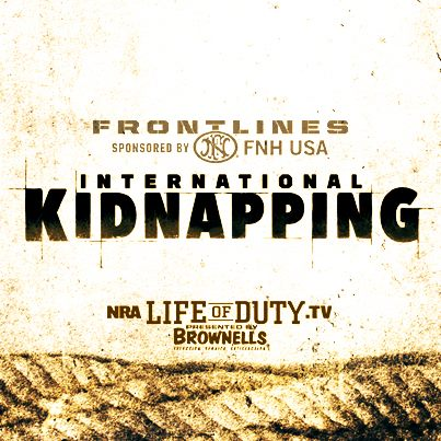 NAR Frontlines Report International Kidnapping