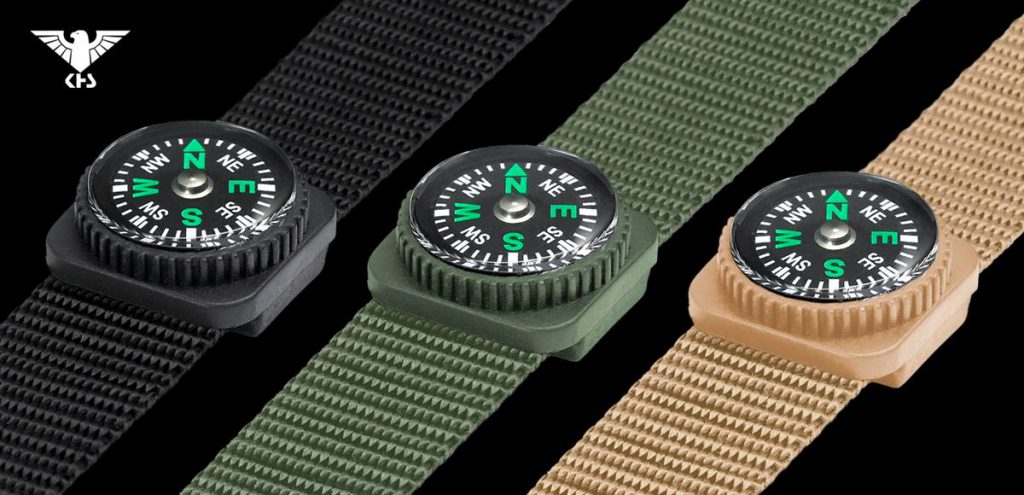 KHS TACTICAL WATCHES - Compass Patches