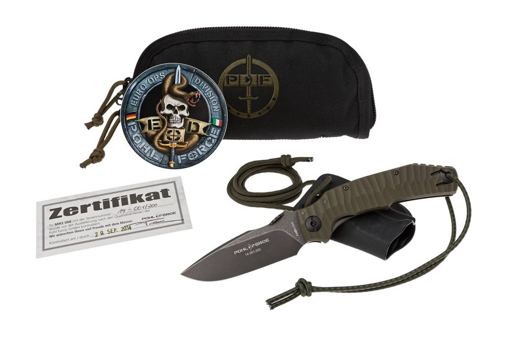 Pohl Force Mike One Tactical