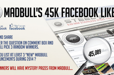 Madbull Airsoft's 45K Facebook likes event