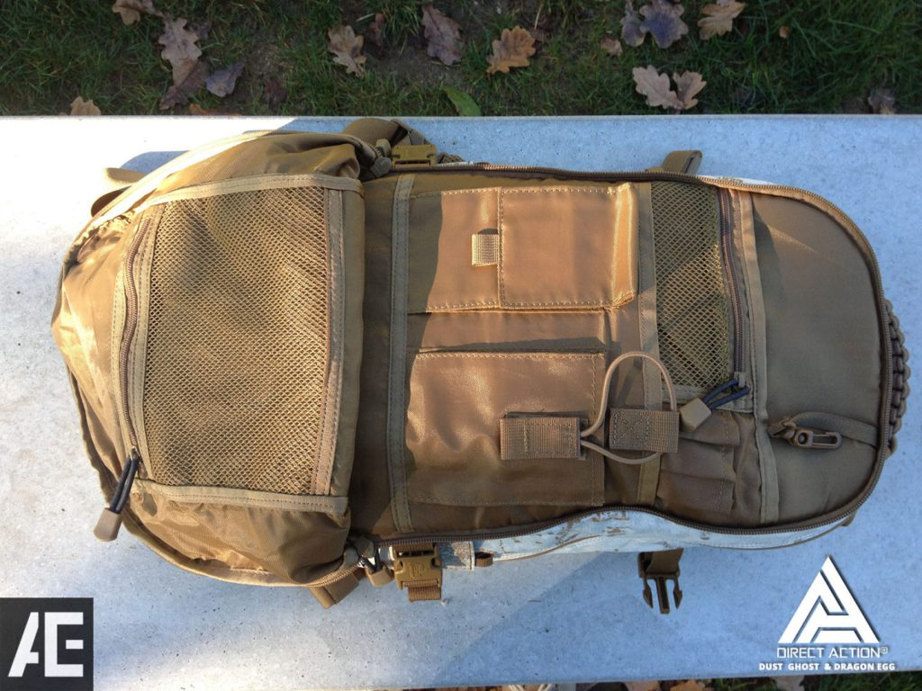 REVIEW DIRECT ACTION BACKPACK DRAGON EGG 21