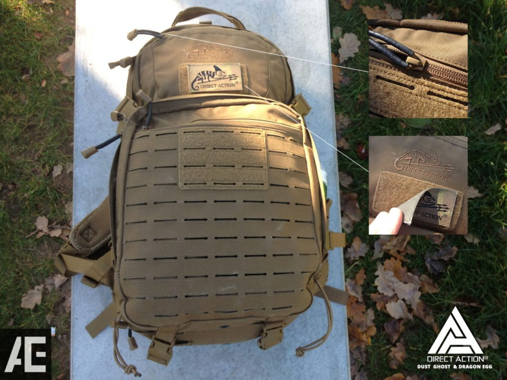 REVIEW DIRECT ACTION BACKPACK GHOST 23
