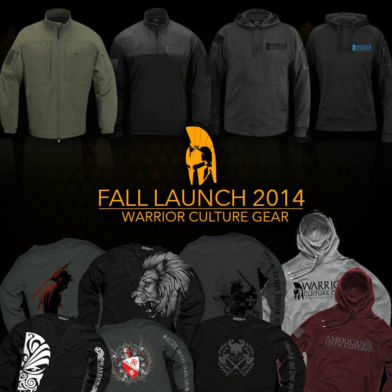 Warrior Culture Gear Fall 2014 Collection