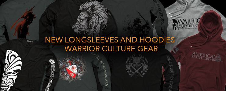 Warrior Culture Gear Fall 2014 Long Sleeves and Hoodies