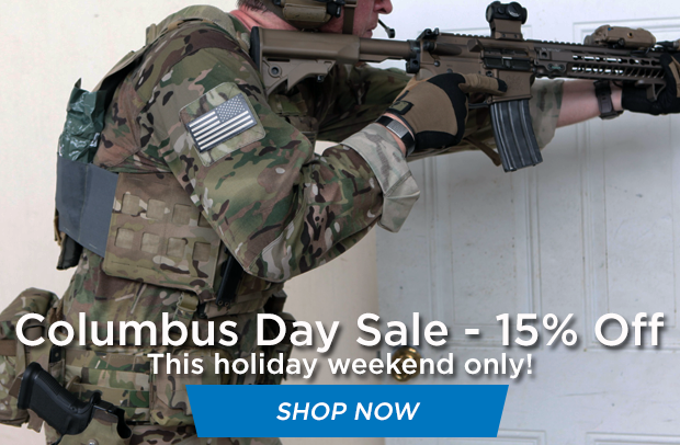 Columbus Day Sale at Blue Force Gear